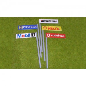 Slot Track Scenics Boards on Stanchions B x5 STS-AB1B