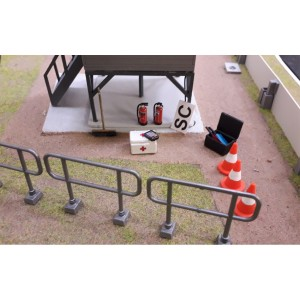 Slot Track Scenics Marshal Post Accessories