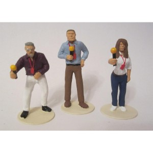 Slot Track Scenics TV Presenters Figures
