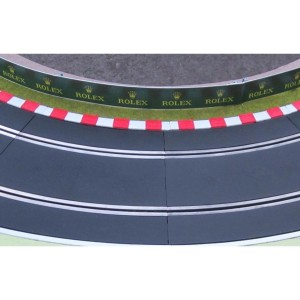 Slot Track Scenics Kerbs for Radius 3 Curves