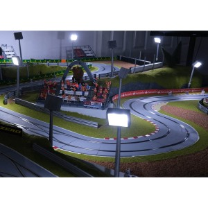 Slot Track Scenics Track Lighting Starter Pack