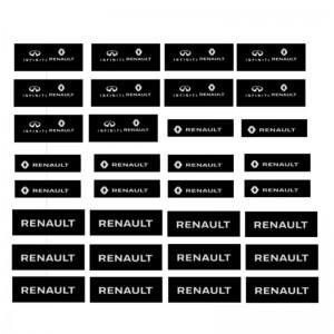 Slot Track Scenics Renault Pit Crew Decals