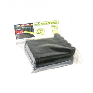 Slot Track Scenics Tyre Wall x5 STS-TW5