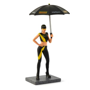 Racer Sideways Pirelli Grid Girl Figure Naomi