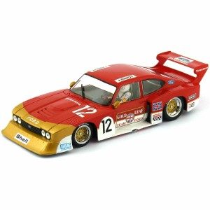 Racer Sideways Ford Capri Zakspeed Group 5 Gold Leaf