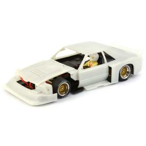Racer Sideways Ford Mustang White Kit