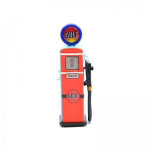Racer Sideways Gas Pump Gulf Left