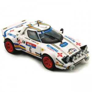 Team Slot Lancia Stratos No.6 Rothmans RACE 1981