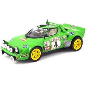 Team Slot Lancia Stratos No.4 Rally Spain 1979