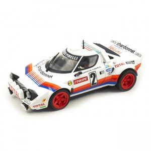 Team Slot Lancia Stratos No.2 Chardonnet Tour De France 1981 TM-11513