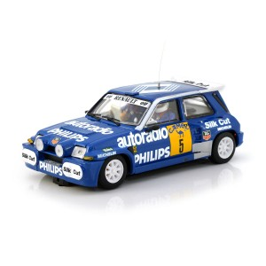 Team Slot Renault 5 Turbo No.5 Rally RACE 1988
