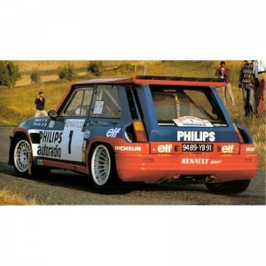 Team Slot Renault 5 Turbo No.1 Tour de France 1981