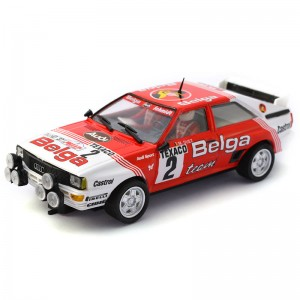 Team Slot Audi Quattro A1 Belga Boucles de Spa 1983