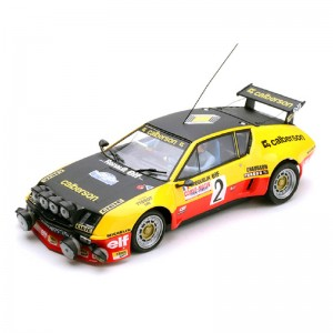 Team Slot Renault Alpine A310 No.2 Calberson