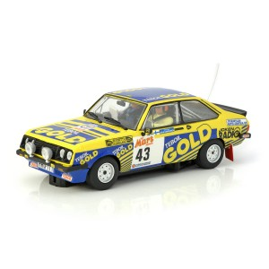 Team Slot Ford Escort MKII RS2000 No.43 Teboil Gold