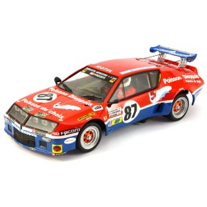 Team Slot Renault Alpine A310 Le Mans 1977