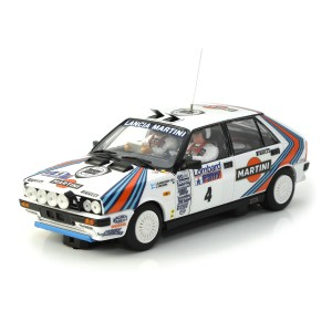 Team Slot Lancia Delta HF No.4 Martini
