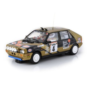 Team Slot Lancia Delta HF No.4 San Remo Rally 1987