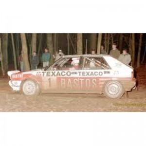 Team Slot Lancia Delta HF No.1 Bastos