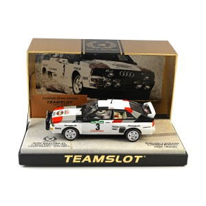 Team Slot Audi Quattro A1 Portugal Rally 1983 Winner