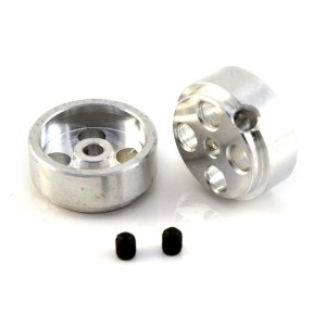 Team Slot Aluminium Wheels 15.9x13.9