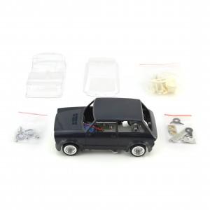 TTS 1/24 Autobianchi A112 Blue Kit Complete