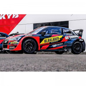 SCX Audi S1 WRX Blaklader