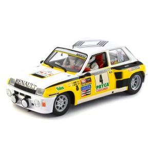 Slotwings Renault 5 No.4 Rally Sierra Morena 1985
