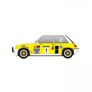 Slotwings Renault 5 Turbo Rally Villa De Llanes 1983
