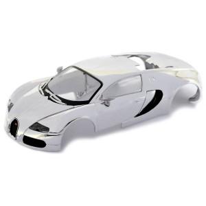 Scalextric Bugatti Veyron Chrome Body