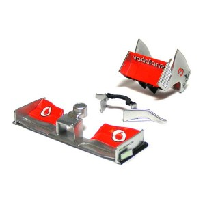 Scalextric McLaren F1 MP4-24 Front & Rear Wing