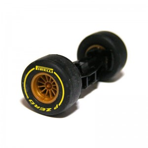 Scalextric Front Axle Assembly Lotus F1 Team