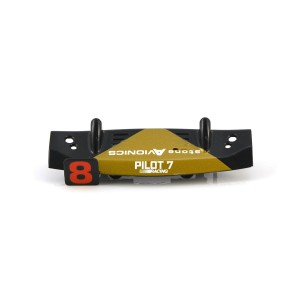 Scalextric Rear Wing Kart Black/Gold