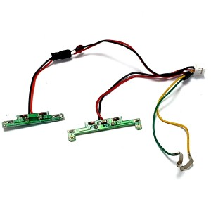 Scalextric LEDs For the Ford Capri MKIII1/32 slot cars.