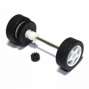 Scalextric Rear Axle Assembly Mitsubishi Lancer
