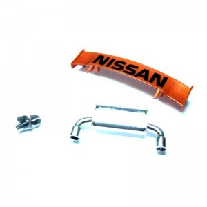 Scalextric Nissan Drift Rear Wing & Exhaust