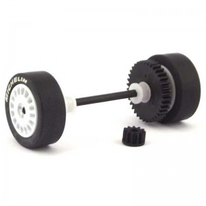 Scalextric Rear Axle Assembly Ford V8