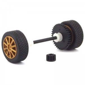 Scalextric Front Axle Assembly Subaru