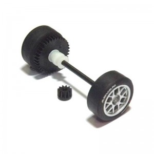 Scalextric Rear Axle Assembly Seat Leon