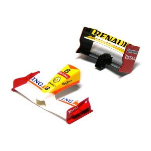Scalextric Renault F1 Front & Rear Wing