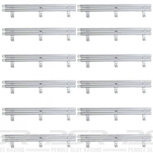 Ninco Crash Barriers Grey x12 10219