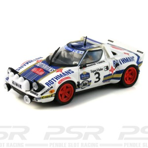 Team Slot Lancia Stratos No.3 Rothmans