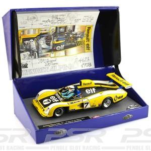 Le Mans Miniatures Renault Alpine A442 No.7 Le Mans 1977