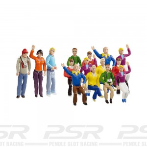 Carrera Set of Figures x15