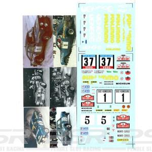DMC Ford Escort RS 1800 Publimmo Decals 24-336