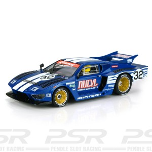 Carrera Digital 132 De Tomaso Pantera No.32 Blue