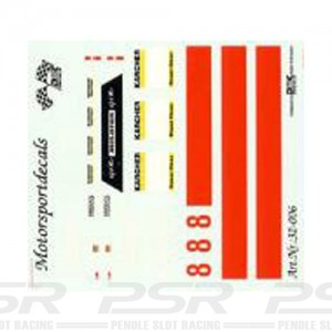 DMC Mclaren F1 GTR No.8 Davidoff Decals 32-006