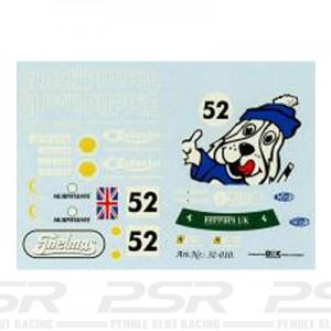 DMC Ferrari 355 No.52 Slush Puppie Decals 32-010