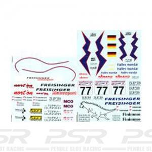 DMC Porsche 911 GT3-RS No.77 Le Mans 2001 Decals 32-057