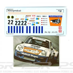 DMC Porsche 911 No.22 Vastkust-Stugan Decals 32-179